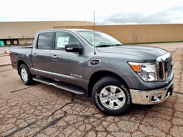 new 2017 nissan titan sv 4d crew cab in colorado springs n544674 woodmen nissan. Black Bedroom Furniture Sets. Home Design Ideas