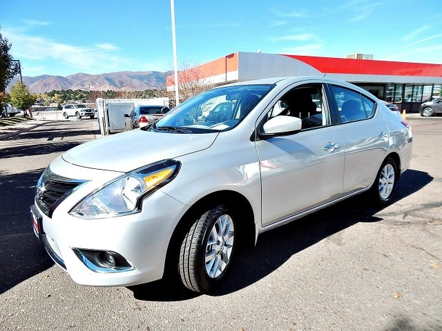 New 2017 Nissan Versa 1 6 Sv 4d Sedan In Colorado Springs