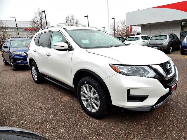 new 2017 nissan rogue sv 4d sport utility in colorado springs c769686 woodmen nissan. Black Bedroom Furniture Sets. Home Design Ideas