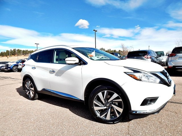 new 2017 nissan murano platinum 4d sport utility in colorado springs n125985 woodmen nissan. Black Bedroom Furniture Sets. Home Design Ideas