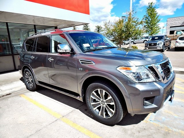 new 2017 nissan armada sl 4d sport utility in colorado springs 9510366 woodmen nissan. Black Bedroom Furniture Sets. Home Design Ideas
